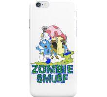 Zombie Smurf iPhone Case/Skin