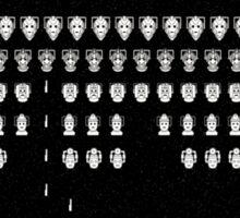 Cybermen Invaders Sticker