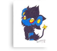 Luxray Pokemon Poster Print Canvas Print