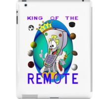 King of the Remote iPad Case/Skin