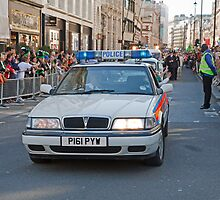St Patrick's Day London by Keith Larby