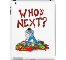 Who's Next? iPad Case/Skin
