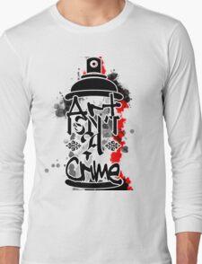 Art Isn't A Crime Long Sleeve T-Shirt