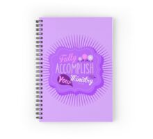 Fully Accomplish Your Ministry (Violet) Spiral Notebook