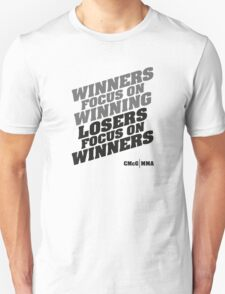 Conor McGregor - Quotes [Winners B] T-Shirt