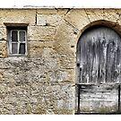 Medieval doorway-2 by Marlene Hielema