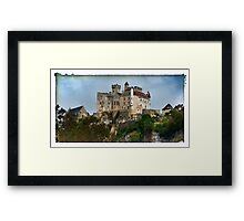 France - View of Beynac Castle Framed Print