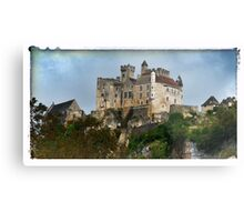 France - View of Beynac Castle Metal Print