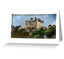 France - View of Beynac Castle Greeting Card