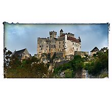 France - View of Beynac Castle Photographic Print