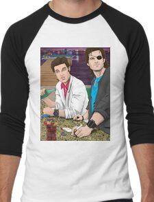 Jack Burton & Snake Plissken Men's Baseball ¾ T-Shirt