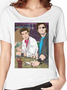 Jack Burton & Snake Plissken Women's Relaxed Fit T-Shirt