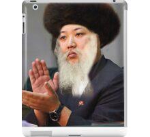 Rabbi Kim Jung Un iPad Case/Skin
