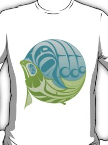 Warm circle salmon T-Shirt