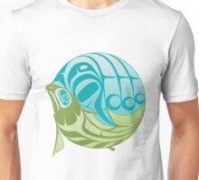 Warm circle salmon Unisex T-Shirt