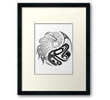 Eagle Bear Framed Print