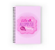 Fully Accomplish Your Ministry (Pink) Spiral Notebook