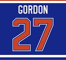 Edmonton Oilers Boyd Gordon Jersey Back Phone Case by Russ Jericho