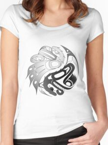 Eagle Bear Women's Fitted Scoop T-Shirt