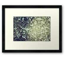 Window Rain  Framed Print