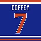 Edmonton Oilers Paul Coffey Jersey Back Phone Case by Russ Jericho