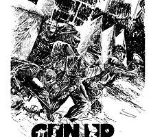 Gun Up Paintball Breakout Black/White by GunUpPaintball