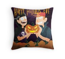 Happy Holloween  Throw Pillow