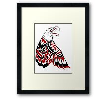 Eagle Human Framed Print