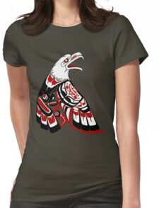 Eagle Human Womens Fitted T-Shirt