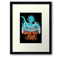 Drop the Ink! (Complementary) Framed Print