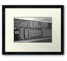 Old Time Baseball Field Framed Print