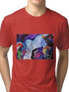 Sunset sea Tri-blend T-Shirt