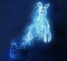 Kangaroo Patronus Charm by VaultScout