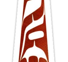 Salmon Fry Paddle Sticker