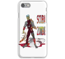 Scuba Zombie iPhone Case/Skin