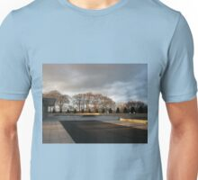 Temple Forecourt At Sundown Unisex T-Shirt