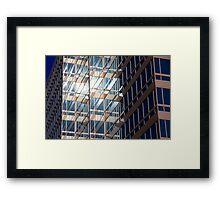 Office Building at Sunset Framed Print