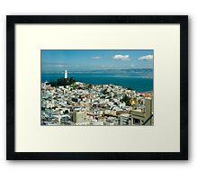 Coit Tower vista Framed Print