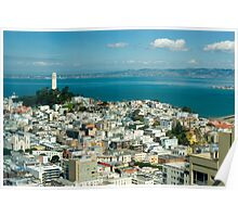 Coit Tower vista Poster