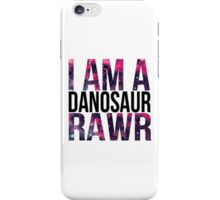 Danisnotonfire danosaur  iPhone Case/Skin
