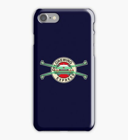 DeloreWing Express iPhone Case/Skin