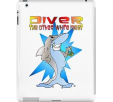 Diver the other White Meat iPad Case/Skin
