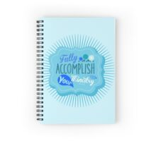 Fully Accomplish Your Ministry (Blue) Spiral Notebook