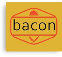 The Bacon Canvas Print