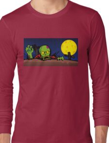 ZOMBIE GHETTO OFFICIAL ARTWORK DESIGN T-SHIRT Long Sleeve T-Shirt