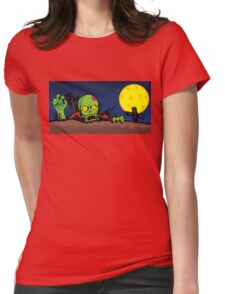 ZOMBIE GHETTO OFFICIAL ARTWORK DESIGN T-SHIRT Womens Fitted T-Shirt