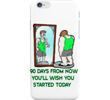 90 Day Challenge iPhone Case/Skin