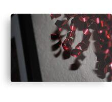 Red Ribbon Metal Print