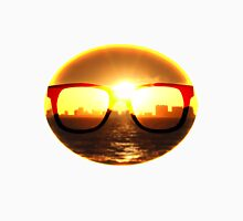 Sunglass Sunset Unisex T-Shirt