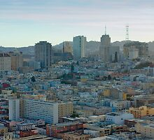 san francisco twin peaks by photoeverywhere